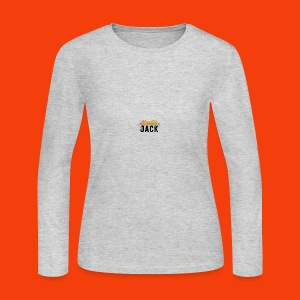 monster jack logo - Women's Long Sleeve Jersey T-Shirt