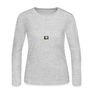 whiteflower - Women's Long Sleeve Jersey T-Shirt