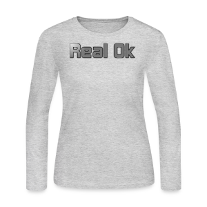 Real Ok version 2 - Women's Long Sleeve Jersey T-Shirt