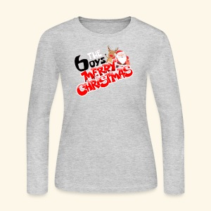 The 6oys Christmas Edition - Women's Long Sleeve Jersey T-Shirt
