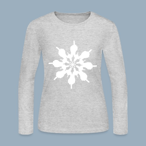 Birdflake - Women's Long Sleeve Jersey T-Shirt