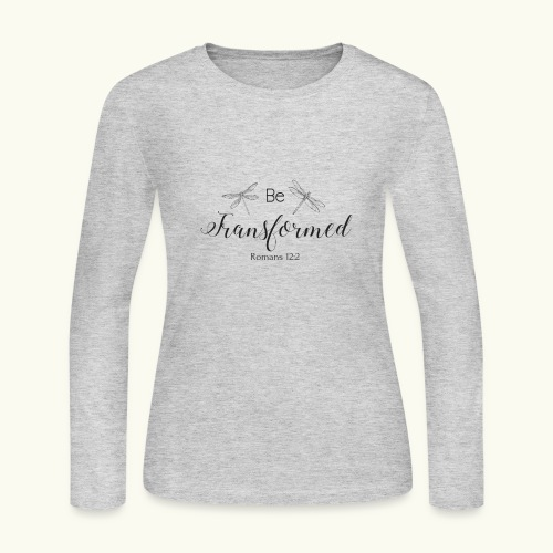 Be Transformed Shop - Women's Long Sleeve Jersey T-Shirt