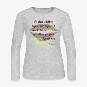 Audre Lorde - Magically Real Series - Women's Long Sleeve Jersey T-Shirt