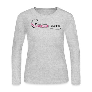 Ride for Breast Cancer - Women's Long Sleeve Jersey T-Shirt