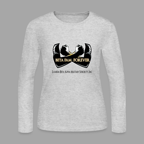 Beta Fam Forever - Lambda Beta Alpha - Women's Long Sleeve Jersey T-Shirt