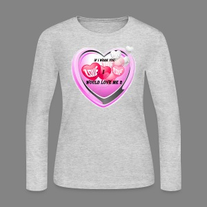If i were you - Women's Long Sleeve Jersey T-Shirt