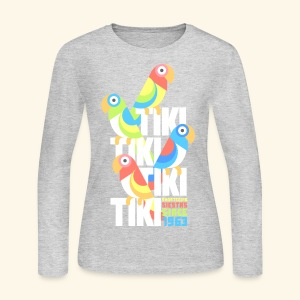 Tiki Room - Women's Long Sleeve Jersey T-Shirt