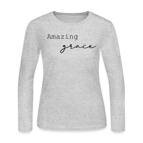 amazing grace - Women's Long Sleeve Jersey T-Shirt