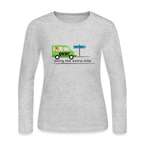 Going the extra mile - Women's Long Sleeve Jersey T-Shirt
