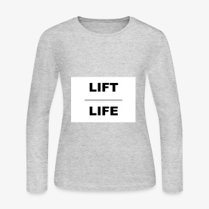Lifting athletic gear - Women's Long Sleeve Jersey T-Shirt