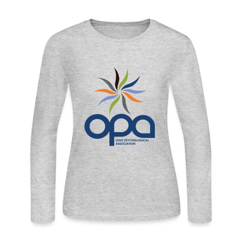 Long-sleeve t-shirt with full color OPA logo - Women's Long Sleeve Jersey T-Shirt