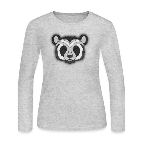 Pattern Panda - Women's Long Sleeve Jersey T-Shirt