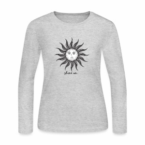Shine on. - Women's Long Sleeve Jersey T-Shirt