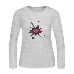 Stain_Mouth - Women's Long Sleeve Jersey T-Shirt