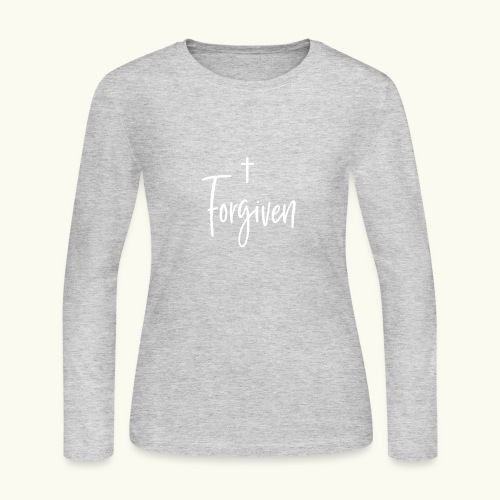 Forgiven - Women's Long Sleeve Jersey T-Shirt