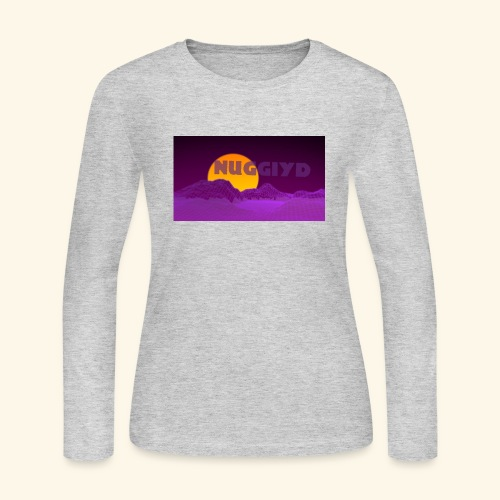purple boy shirt - Women's Long Sleeve Jersey T-Shirt