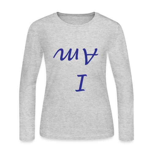 I Am - Personal Mindfulness T-Shirt - Women's Long Sleeve Jersey T-Shirt