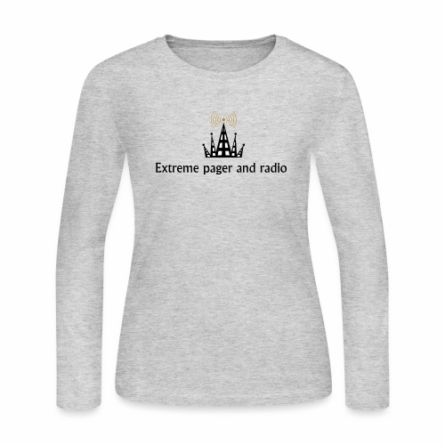 extreme pager and radio - Women's Long Sleeve Jersey T-Shirt