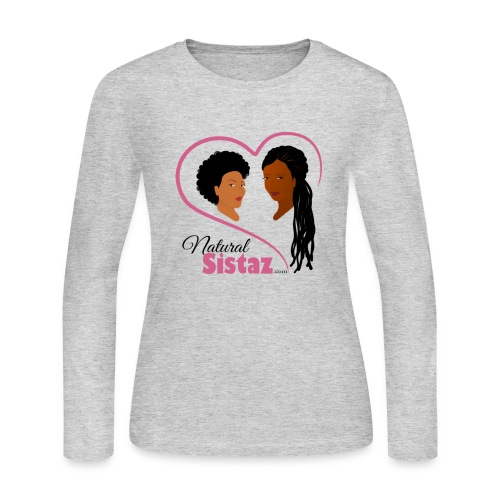 NaturalSistaz.com Logo Gear - Women's Long Sleeve Jersey T-Shirt