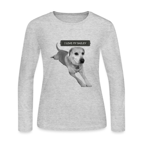 Bailey - Women's Long Sleeve Jersey T-Shirt