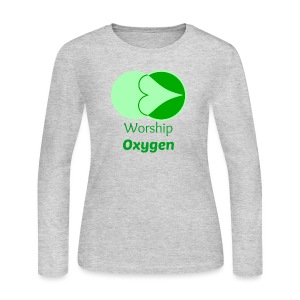 Worship Oxygen - Women's Long Sleeve Jersey T-Shirt