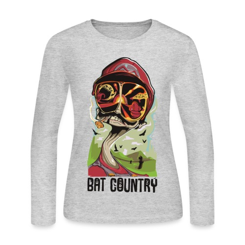Fear and Mario at Bat Country - Women's Long Sleeve Jersey T-Shirt