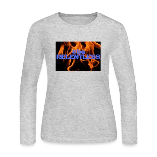 relentless blue - Women's Long Sleeve Jersey T-Shirt