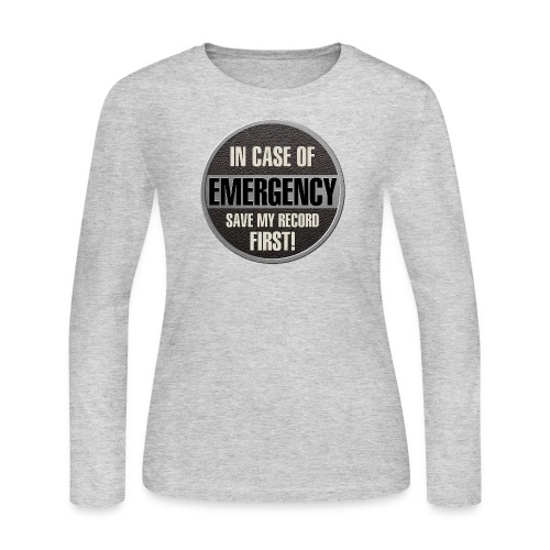 case record - Women's Long Sleeve Jersey T-Shirt