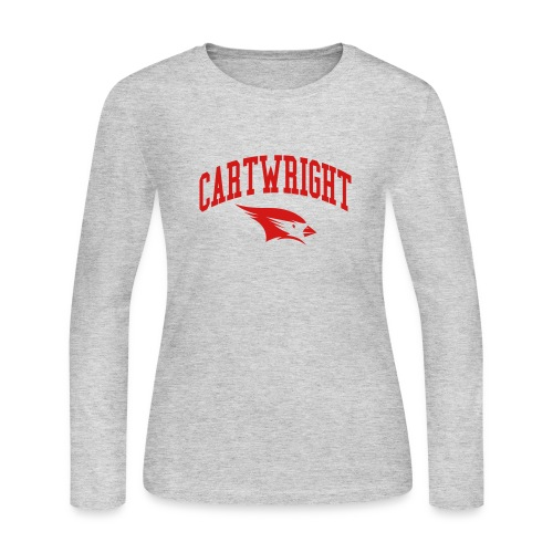 Cartwright College Logo - Women's Long Sleeve Jersey T-Shirt