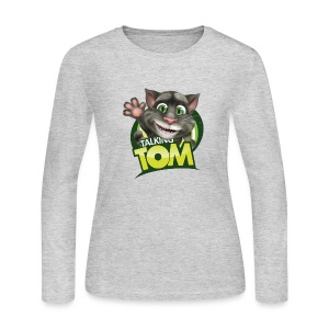 Talking_TOM_wave_preview_lowRes - Women's Long Sleeve Jersey T-Shirt