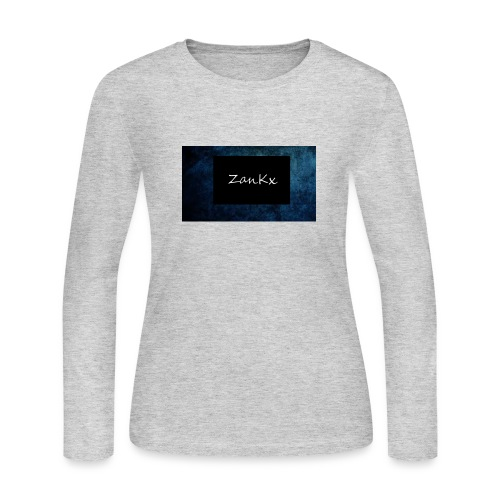 ZanKx Rounded - Women's Long Sleeve Jersey T-Shirt