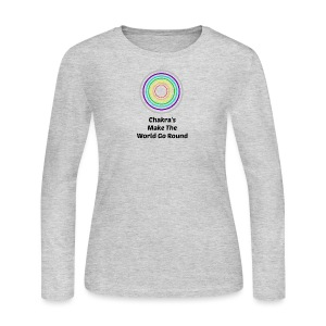 Chakra - Women's Long Sleeve Jersey T-Shirt