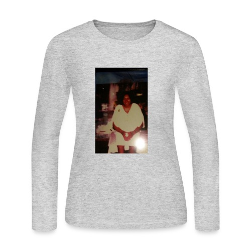 Grandma's picture - Women's Long Sleeve Jersey T-Shirt
