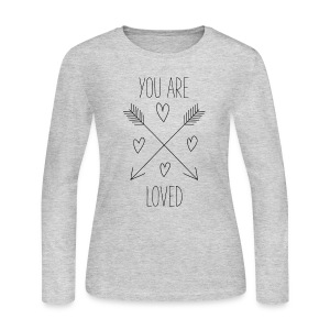 You Are Loved - Women's Long Sleeve Jersey T-Shirt