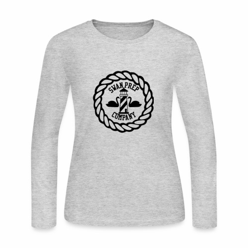 Swan Prep Badge Classic Design - Women's Long Sleeve Jersey T-Shirt