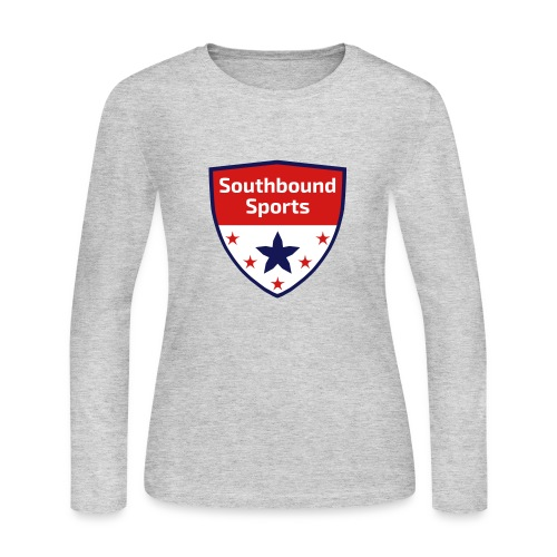 Southbound Sports Crest Logo - Women's Long Sleeve Jersey T-Shirt