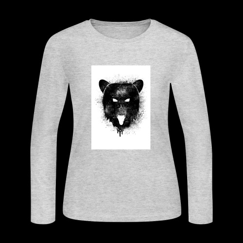 BEAR Fierce - Women's Long Sleeve Jersey T-Shirt