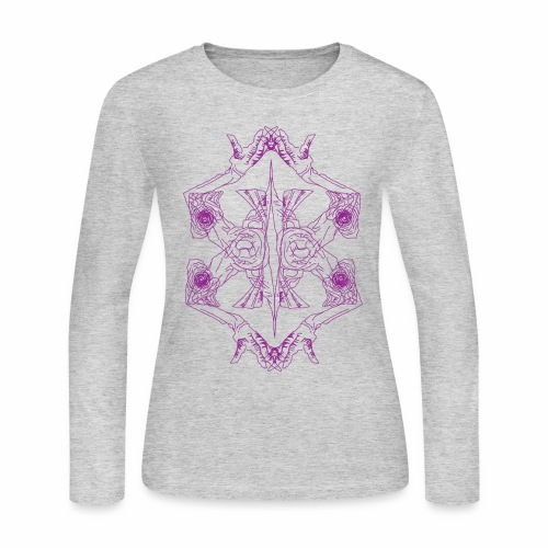 Double the trouble - Women's Long Sleeve Jersey T-Shirt