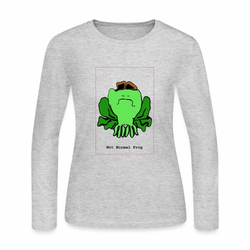 not normal frog - Women's Long Sleeve Jersey T-Shirt
