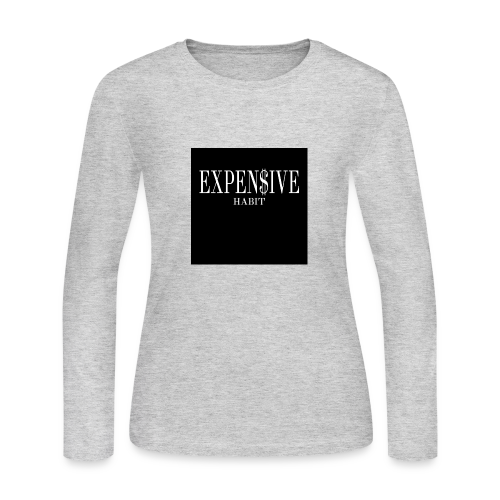Expensive habit - Women's Long Sleeve Jersey T-Shirt
