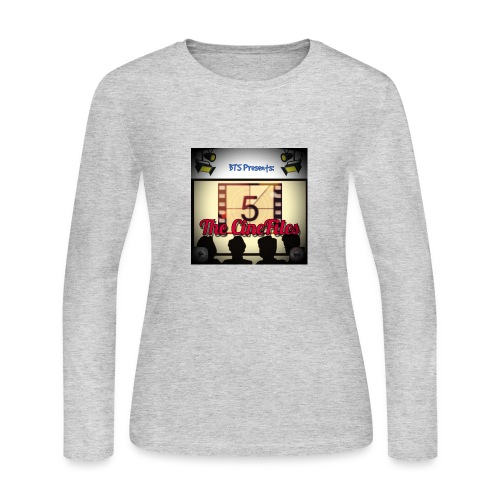 CineFiles - Women's Long Sleeve Jersey T-Shirt