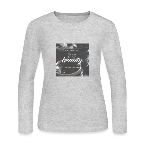 photograpy is beauty - Women's Long Sleeve Jersey T-Shirt