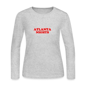 ATL NIGHTS - Women's Long Sleeve Jersey T-Shirt