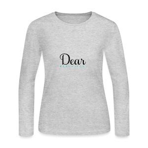 Dear Beautiful Campaign - Women's Long Sleeve Jersey T-Shirt