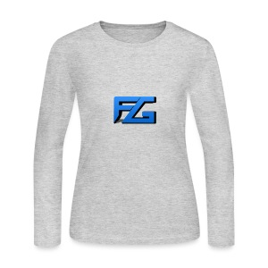 Freeze Gaming Logo - Women's Long Sleeve Jersey T-Shirt