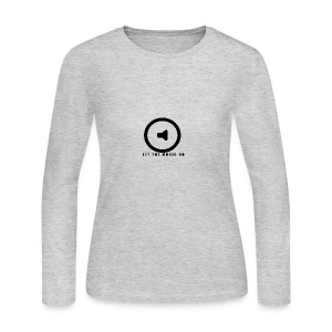 Let the music go - Women's Long Sleeve Jersey T-Shirt