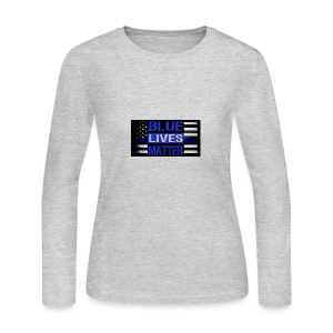 blue-lives-matter-membership-1-1024x538 - Women's Long Sleeve Jersey T-Shirt