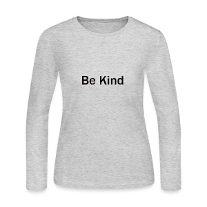 Be_Kind - Women's Long Sleeve Jersey T-Shirt