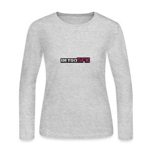 RetroSFX logo - Women's Long Sleeve Jersey T-Shirt