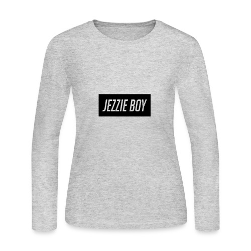 Jezzie Boy Hoodie - Women's Long Sleeve Jersey T-Shirt